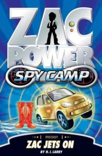 Cover Zac Power Spy Camp