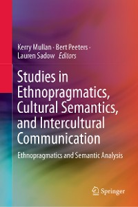 Cover Studies in Ethnopragmatics, Cultural Semantics, and Intercultural Communication