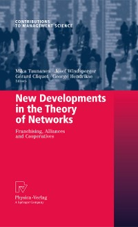 Cover New Developments in the Theory of Networks