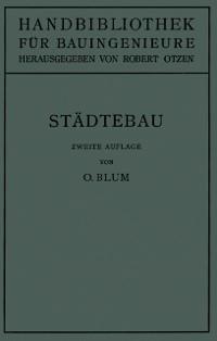 Cover Stadtebau