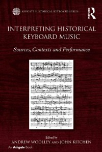 Cover Interpreting Historical Keyboard Music