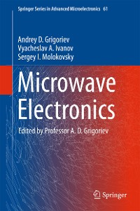 Cover Microwave Electronics