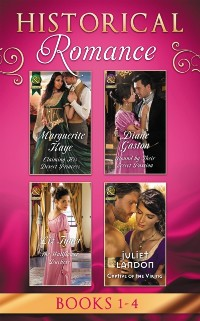 Cover Historical Romance: April Books 1 - 4: Claiming His Desert Princess / Bound by Their Secret Passion / The Wallflower Duchess / Captive of the Viking (Mills & Boon e-Book Collections)