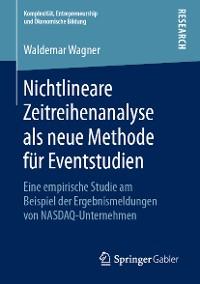 Cover Nichtlineare Zeitreihenanalyse als neue Methode für Eventstudien