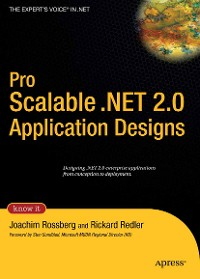 Cover Pro Scalable .NET 2.0 Application Designs