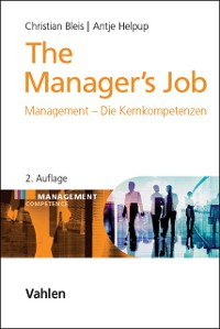 Cover The Manager's Job