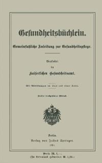 Cover Gesundheitsbuchlein