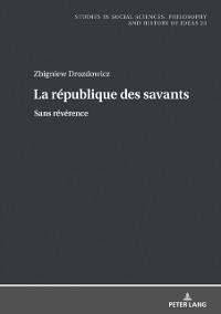 Cover La republique des savants