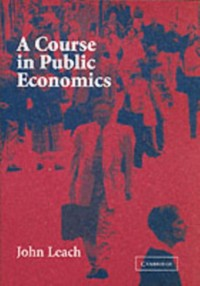 Cover Course in Public Economics