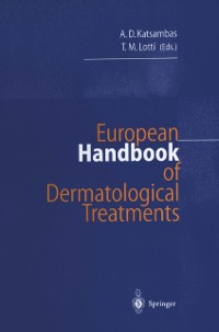 Cover European Handbook of Dermatological Treatments