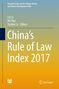 Cover China's Rule of Law Index 2017
