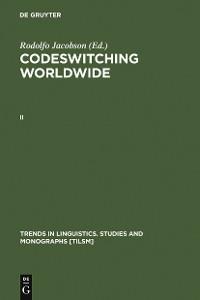Cover Codeswitching Worldwide. II