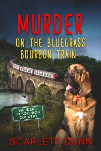 Cover Murder on the Bluegrass Bourbon Train
