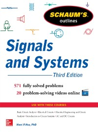 Cover Schaum s Outline of Signals and Systems 3ed.