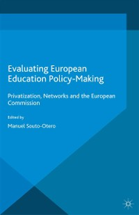 Cover Evaluating European Education Policy-Making