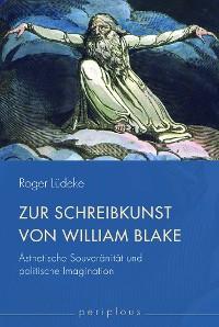 Cover Zur Schreibkunst von William Blake