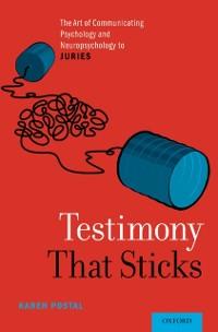 Cover Testimony That Sticks