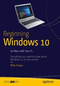 Cover Beginning Windows 10