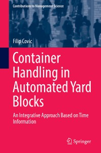 Cover Container Handling in Automated Yard Blocks