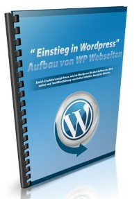 Cover Einstieg in Wordpress