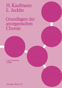 Cover Grundlagen der anorganischen Chemie