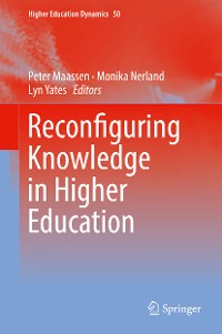 Cover Reconfiguring Knowledge in Higher Education