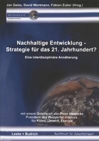 Cover Nachhaltige Entwicklung - Strategie fur das 21. Jahrhundert?