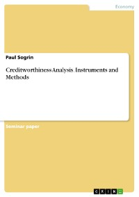 Cover Creditworthiness Analysis. Instruments and Methods
