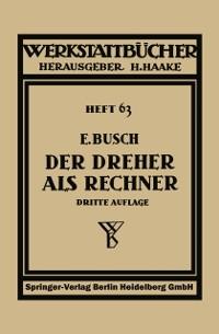 Cover Der Dreher als Rechner