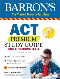 Cover ACT Premium Study Guide with 6 Practice Tests