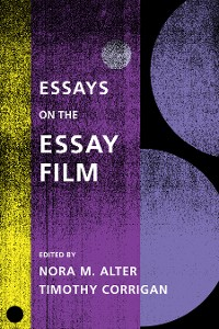 Cover Essays on the Essay Film