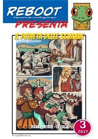 Cover Reboot presenta : IL PIANETA DELLE SCIMMIE 3