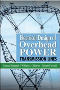 Cover Electrical Design of Overhead Power Transmission Lines