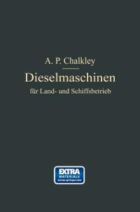 Cover Dieselmaschinen fur Land- und Schiffsbetrieb