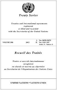Cover Treaty Series 2901/Recueil des Traités 2901