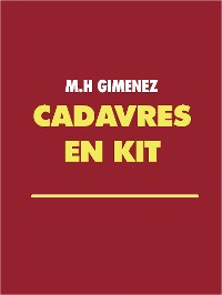 Cover CADAVRES EN KIT