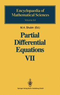 Cover Partial Differential Equations VII