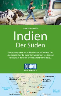 Cover DuMont Reise-Handbuch Reiseführer Indien, Der Süden