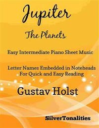 Cover Jupiter the Planets Easy Intermediate Piano Sheet Music