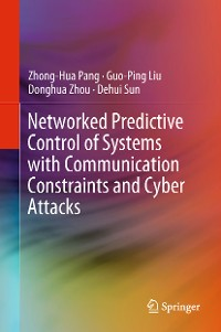 Cover Networked Predictive Control of Systems with Communication Constraints and Cyber Attacks