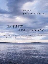 Cover So Vast and Various