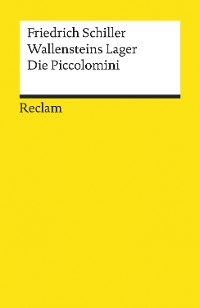 Cover Wallensteins Lager. Die Piccolomini
