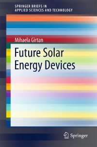 Cover Future Solar Energy Devices