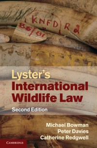 Cover Lyster's International Wildlife Law