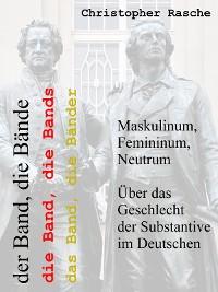 Cover Maskulinum, Femininum, Neutrum