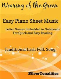 Cover Wearing of the Green Easy Piano Sheet Music