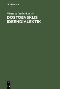 Cover Dostoevskijs Ideendialektik
