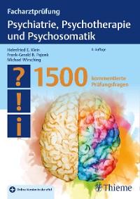 Cover Facharztprüfung Psychiatrie, Psychotherapie und Psychosomatik