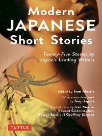 Cover Modern Japanese Short Stories