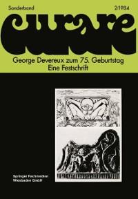 Cover George Devereux zum 75. Geburtstag Eine Festschrift